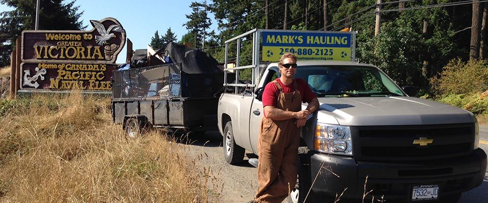 Mark's Hauling staff