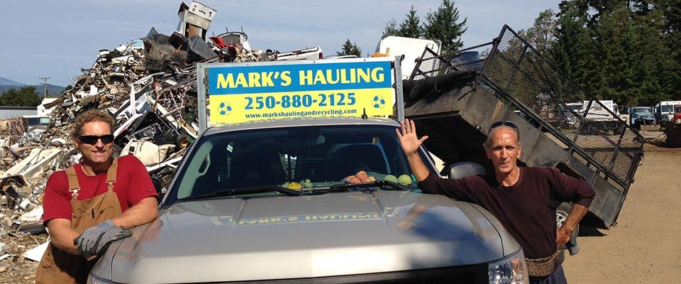 Mark's Hauling & Recycling staff members